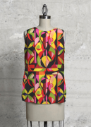 Damascene Jewel Tapestry Sleeveless Top